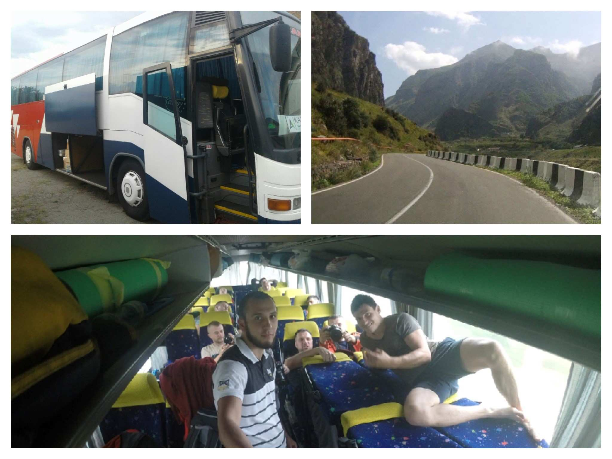 Из Украины в Грузию на автобусе