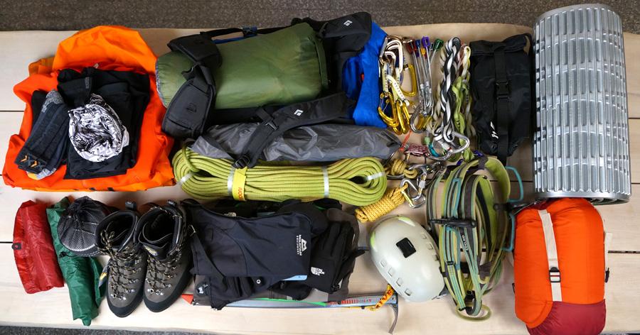Снаряжение для альпинизма и скалолазания