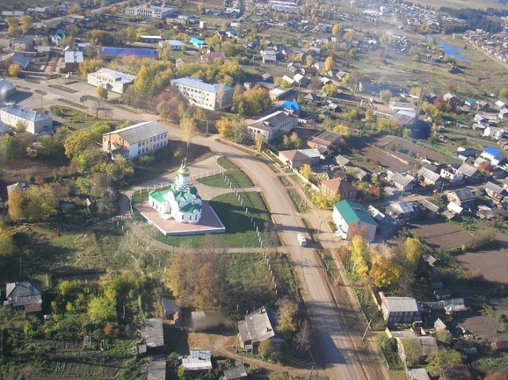 Село на Сибирском Тракте.