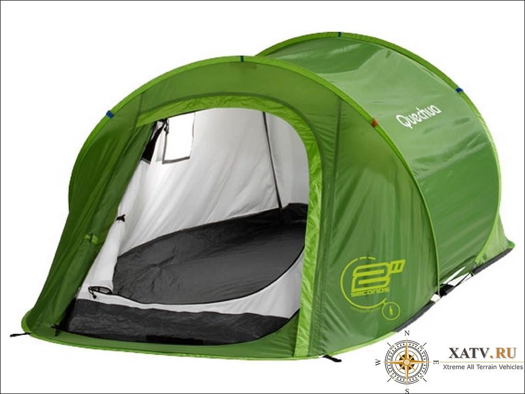 Обзор походной палатки quechua