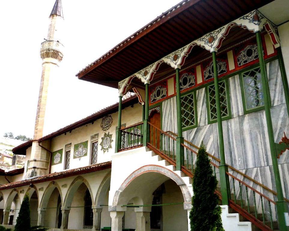 Фото Бахчисарайского дворца
