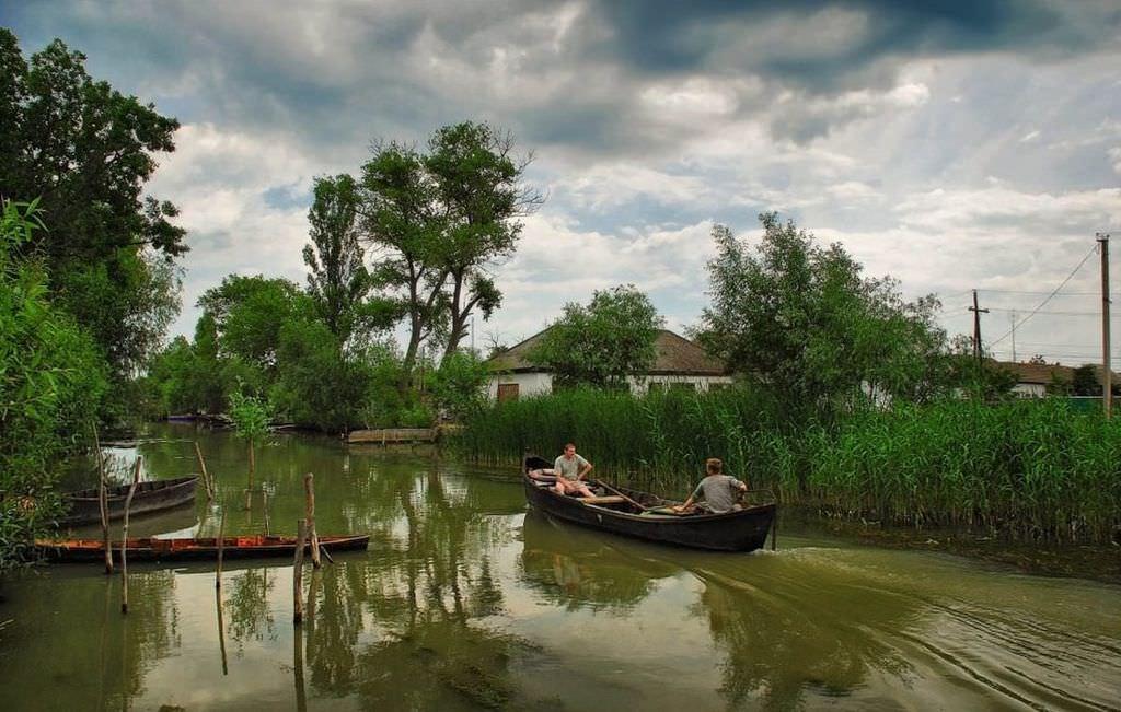Вилково – украинская Венеция.