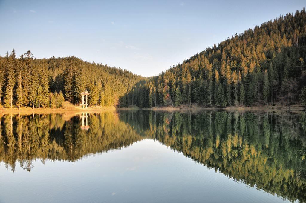 Синевир - синее озеро любви