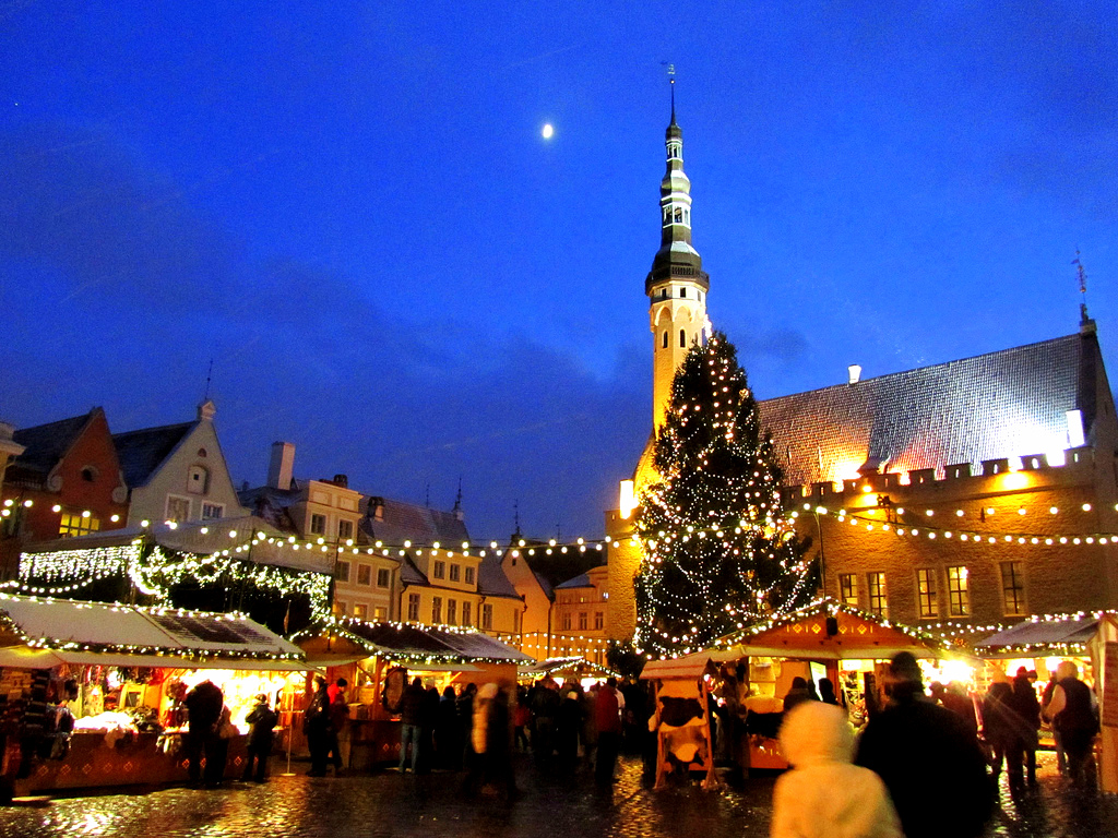 В Таллин на Новый Год.