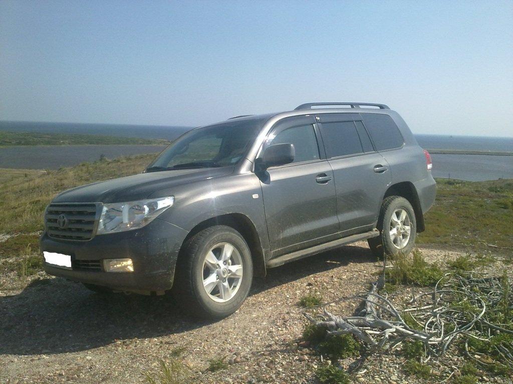 На Toyota Land Cruiser в Сургут.