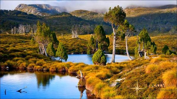 Топ 7 достопримечательностей в Тасмании.