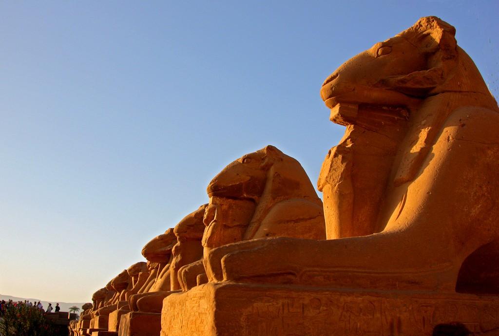 Египет Карнакский храм.