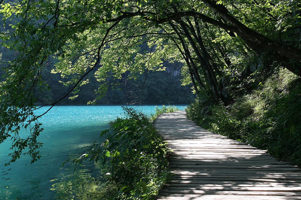 Плитвицкие озера. Хорватия.