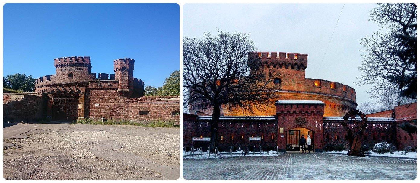 Башни Врангеля и Дона в Калининграде