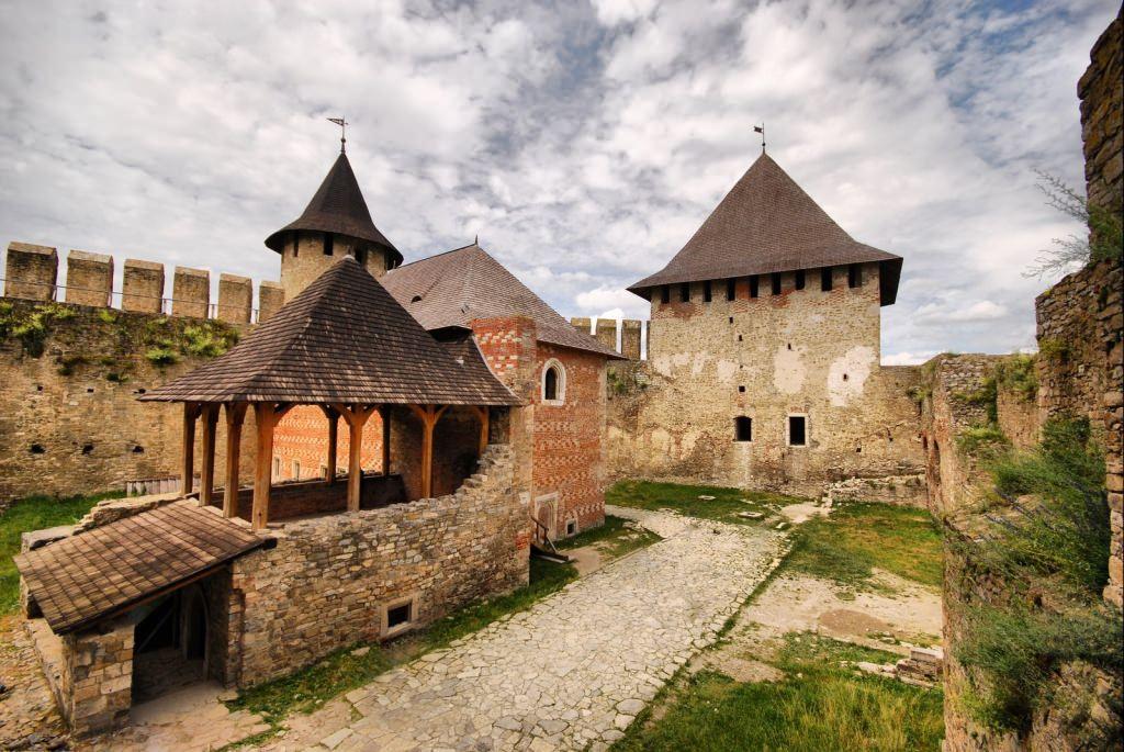 Хотинская крепость - гордость Западной Украины.