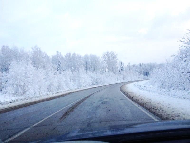 Зимняя поездка на машине. Новокузнецк – Междуреченск - Шерегеш.