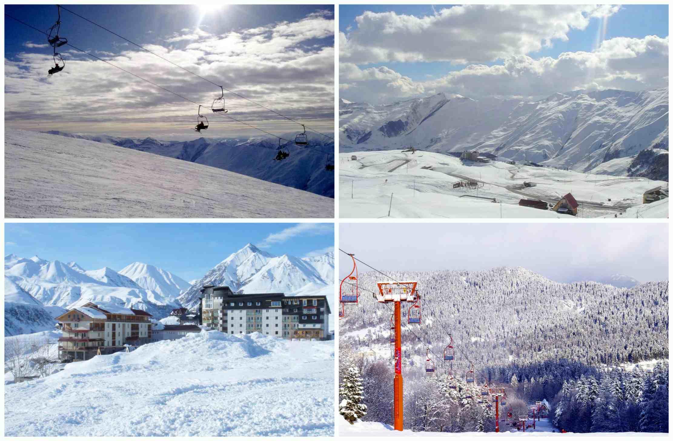 Зима в грузии куда