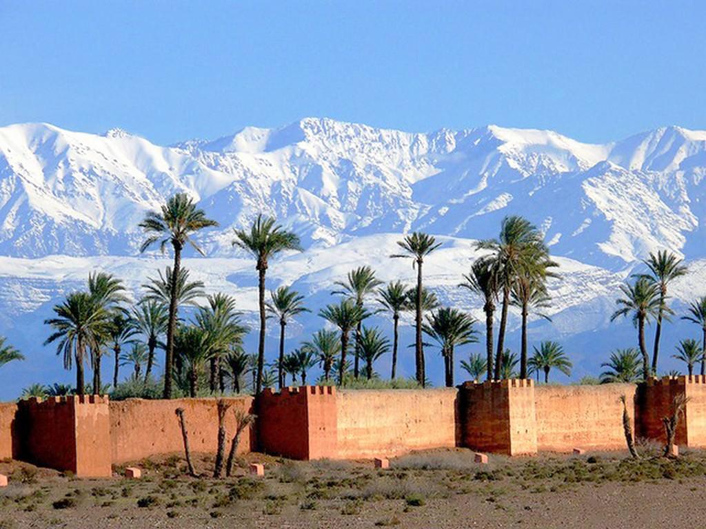 Марракеш - уникальный город на краю пустыни