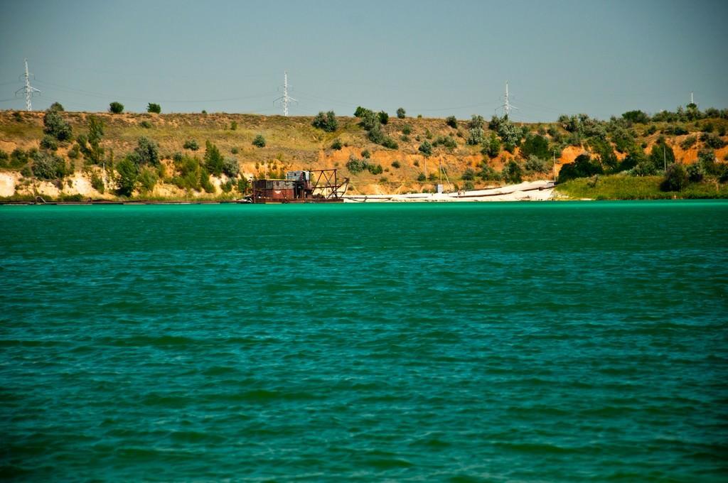 Голубые озера Донбасса
