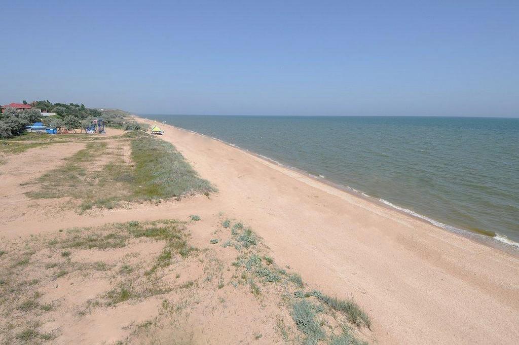 На Азовское море с палаткой.