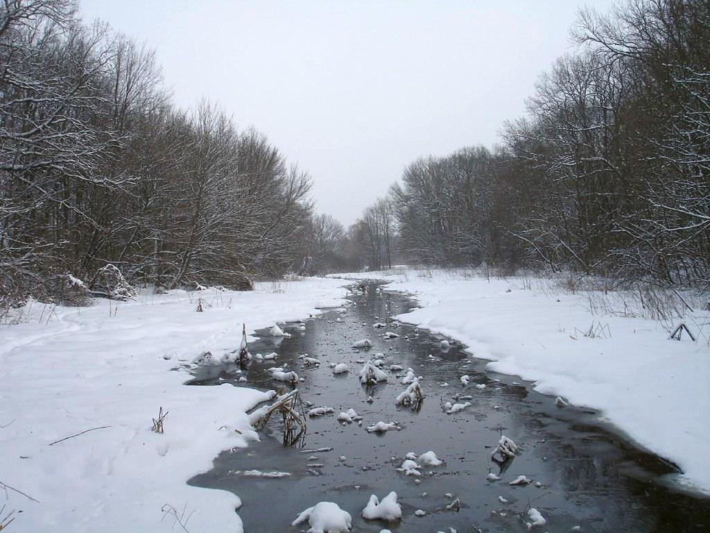Зимняя прогулка от Эсхара до Мохнача.