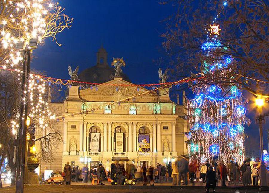Новый Год во Львове!!!