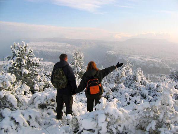 Новый год на Чатырдаге, Ангарский перевал.