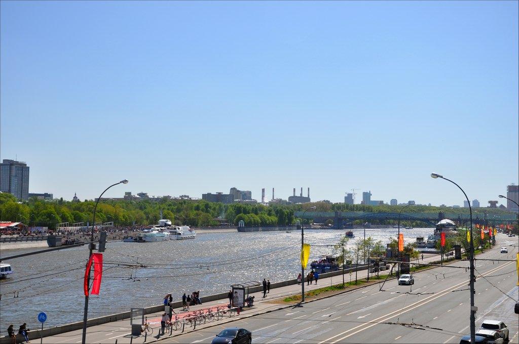 9 мая в Москве. 2014 год.