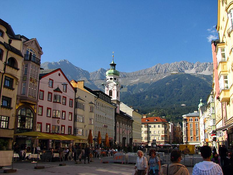 Альпийские красоты Инсбрука