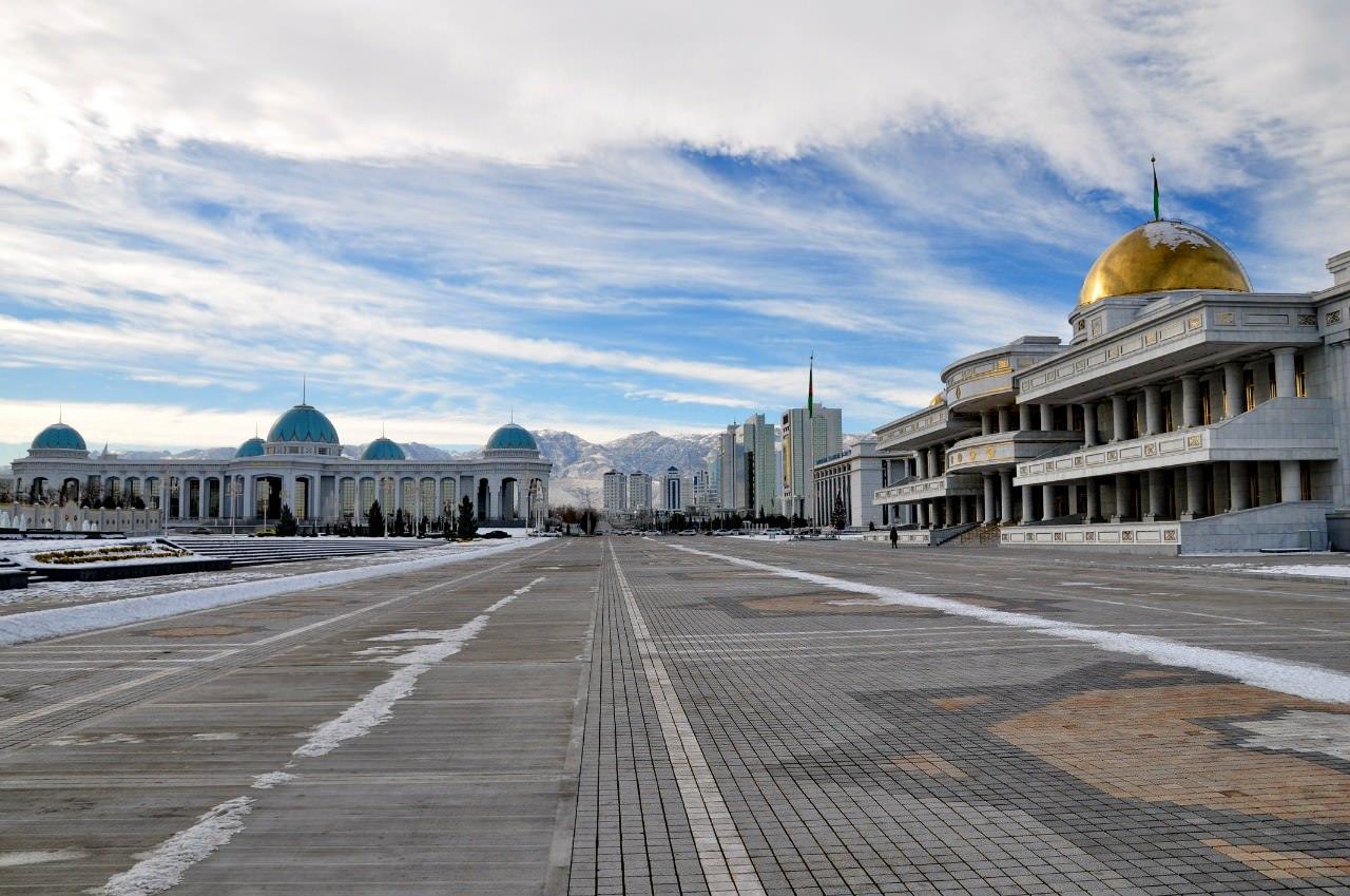 Поездка в Туркменистан. Ашхабад