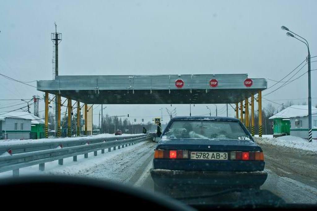 Поездка в Белоруссию на машине