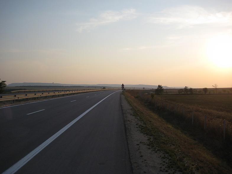 Автостопом до Болгарии