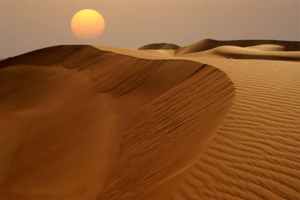 Пустыня Сахара.Глаз Сахары.