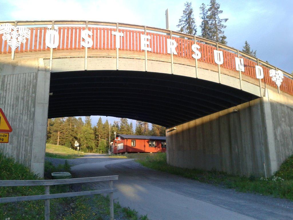 Эстерсунд. Центр Скандинавии