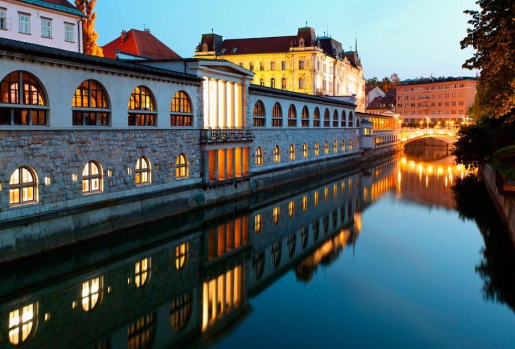 Выходные в Любляне
