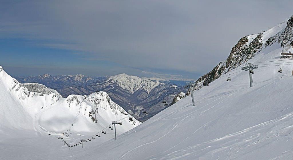 На лыжах в Сочи
