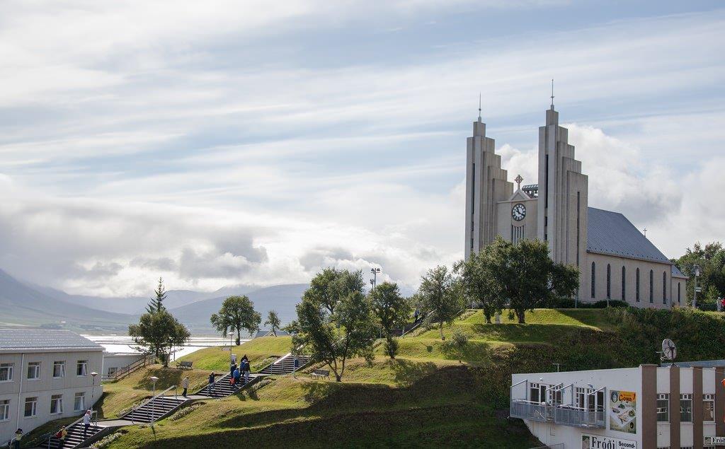 Акурейри, Северная столица Исландии.