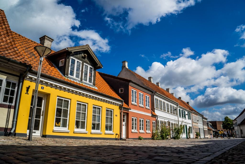 Два дня в Оденсе, Дания