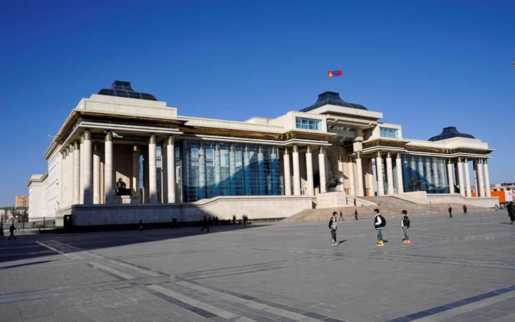 Монгольская столица Улан-Батор