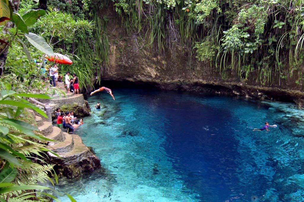 Зачарованная Река, Филиппины