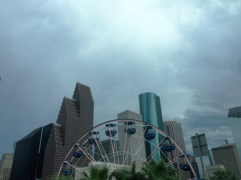 Три дня в Хьюстоне, Техас