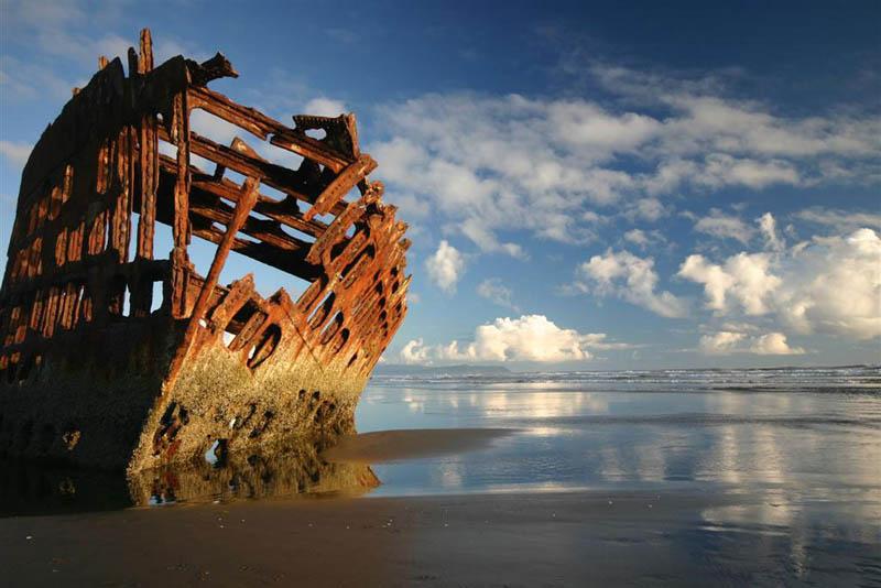 Берег Скелетов, побережье Намибии