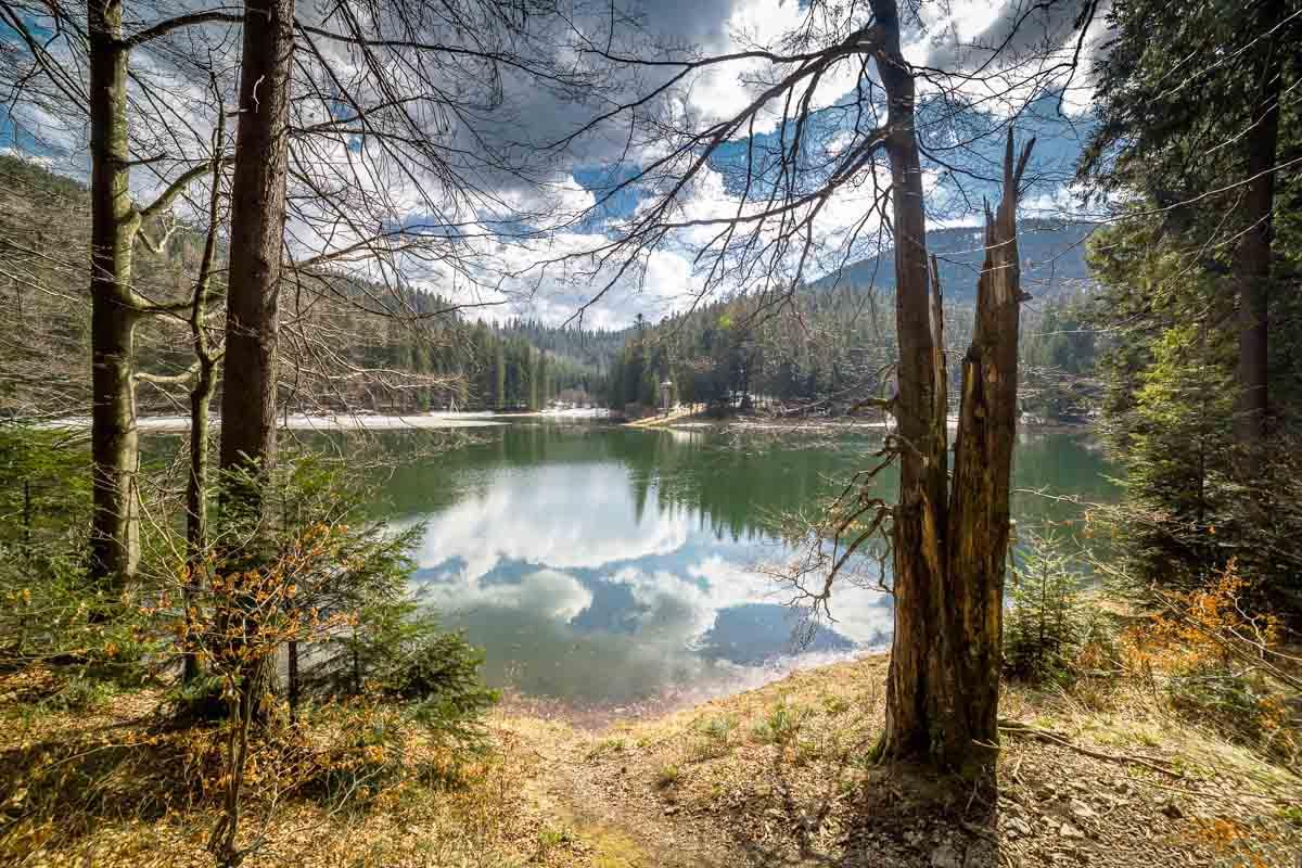 Поездка к озеру Синевир