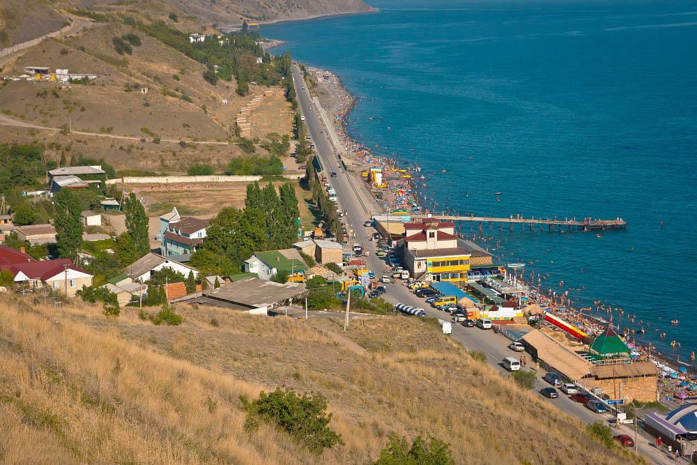 Поселок Морское, Крым