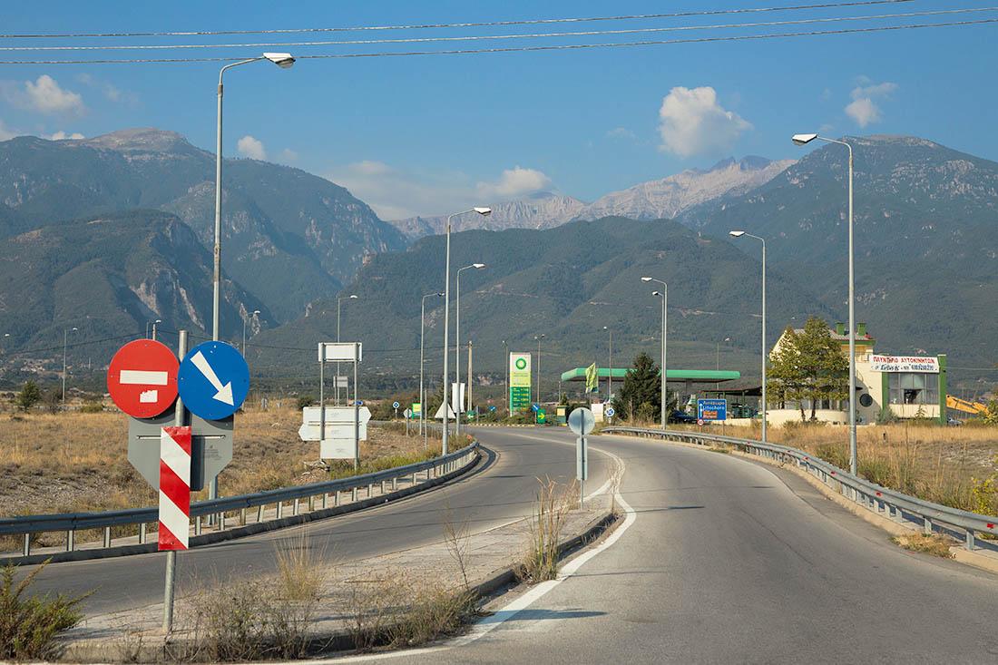 Гора богов Олимп, Греция