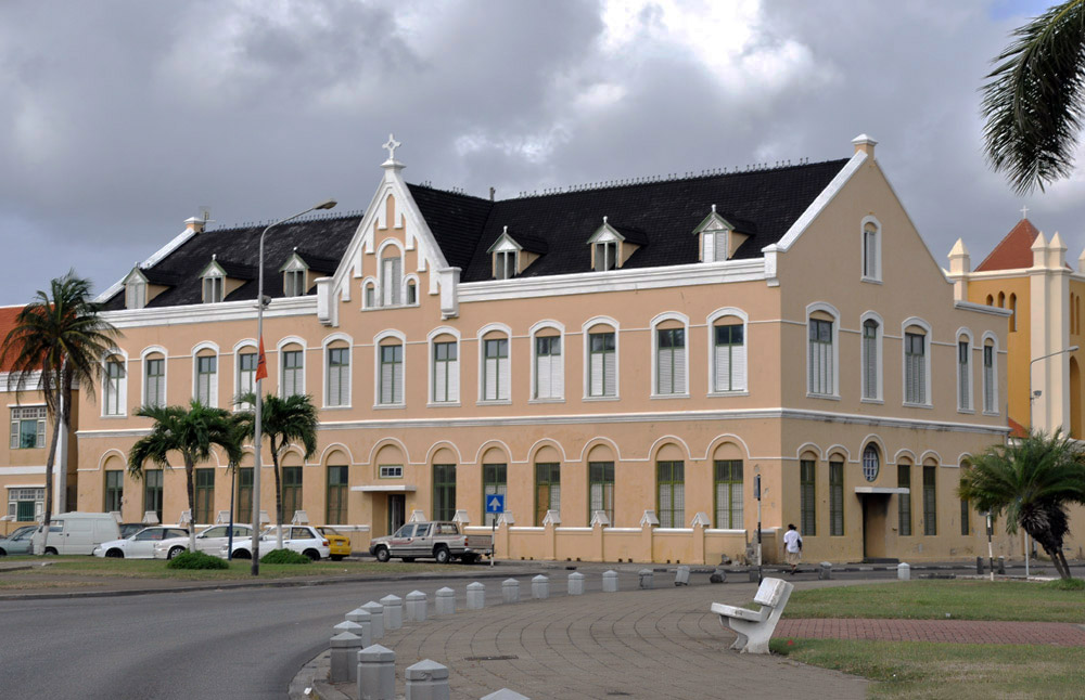 Виллемстад, столица Кюрасао