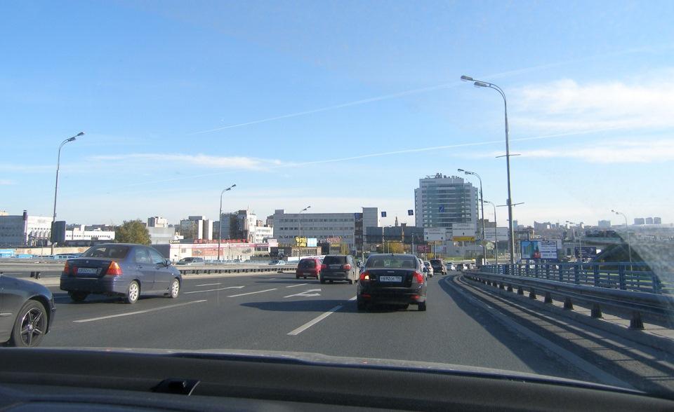 Из Москвы в Киев на машине