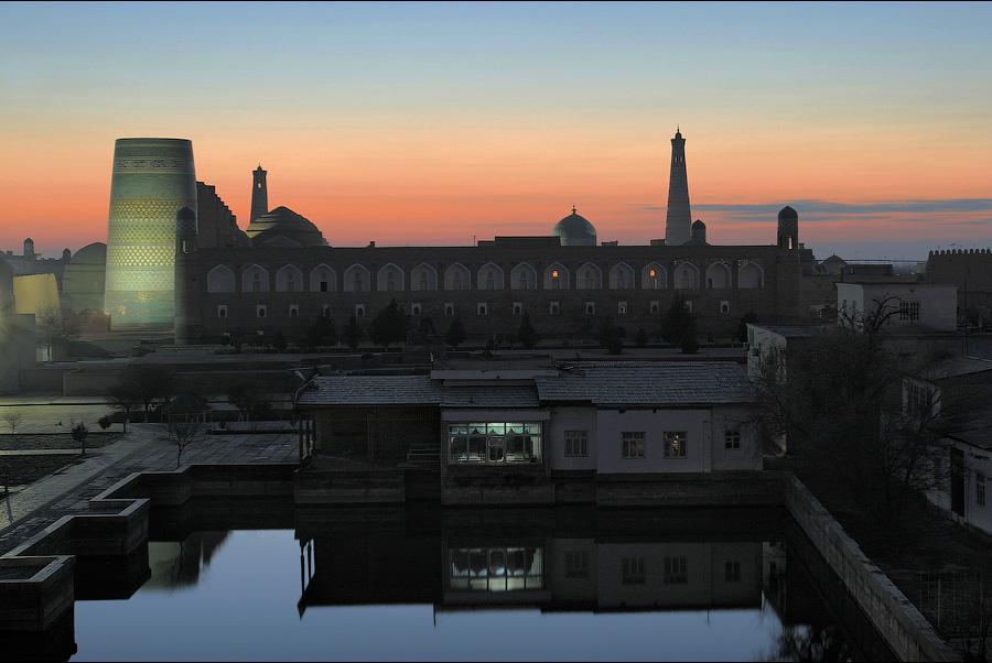 Древний город Хива в Узбекистане