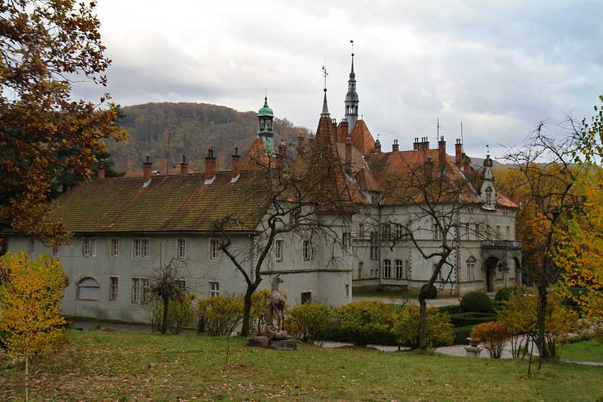 Замок Шенборнов, Закарпатская область