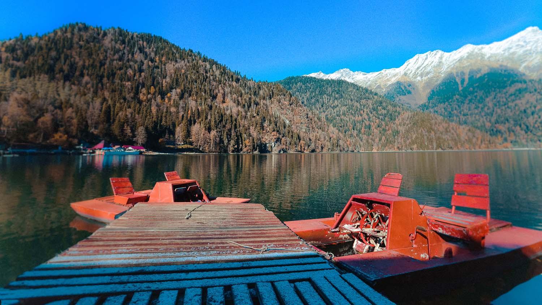 Поездка на озеро Рица, Абхазия