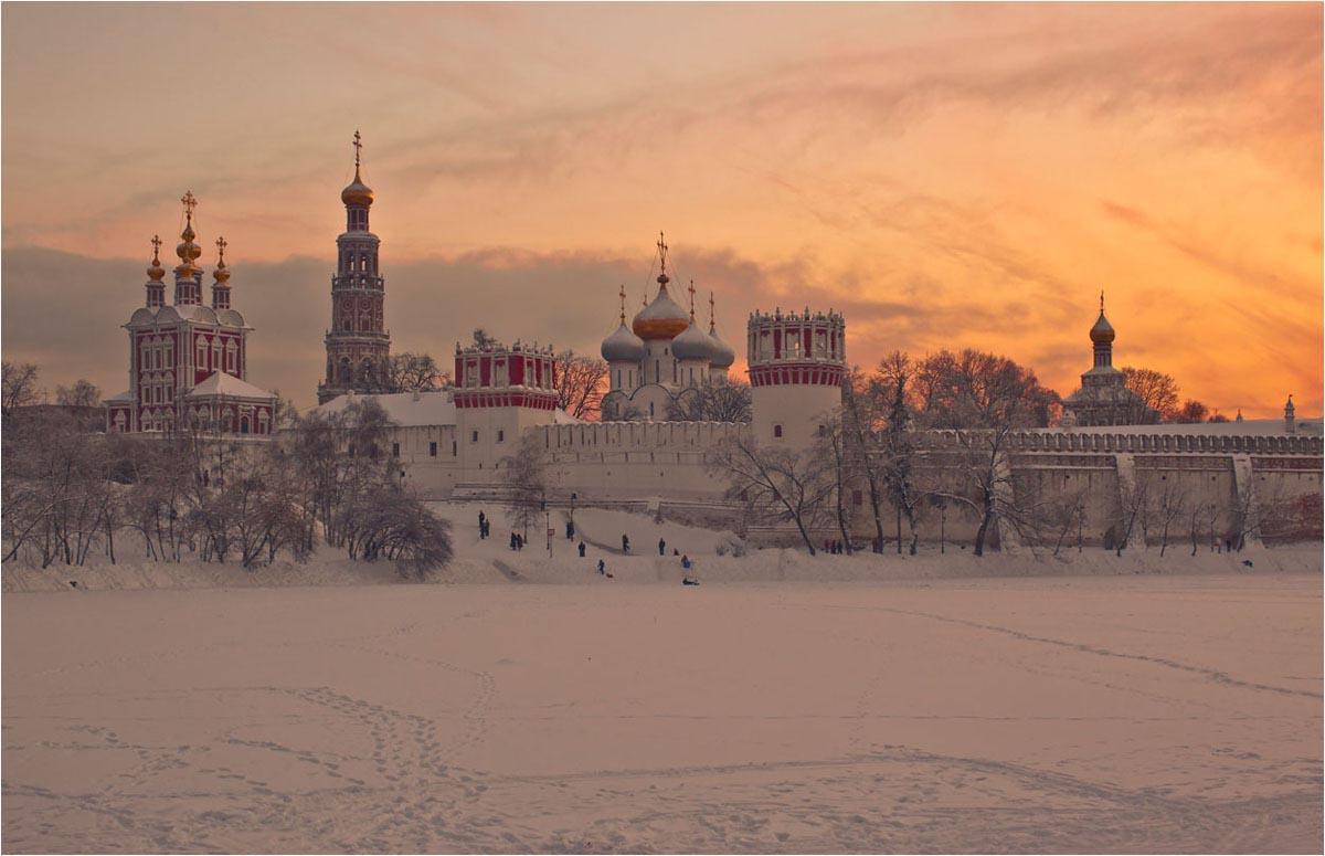 Фото Новодевичьего монастыря