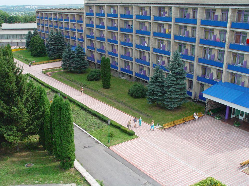 Курортный город Хмельник, Украина