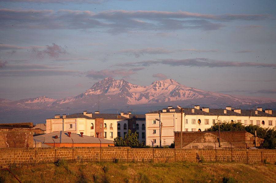 Два дня в Гюмри, Армения