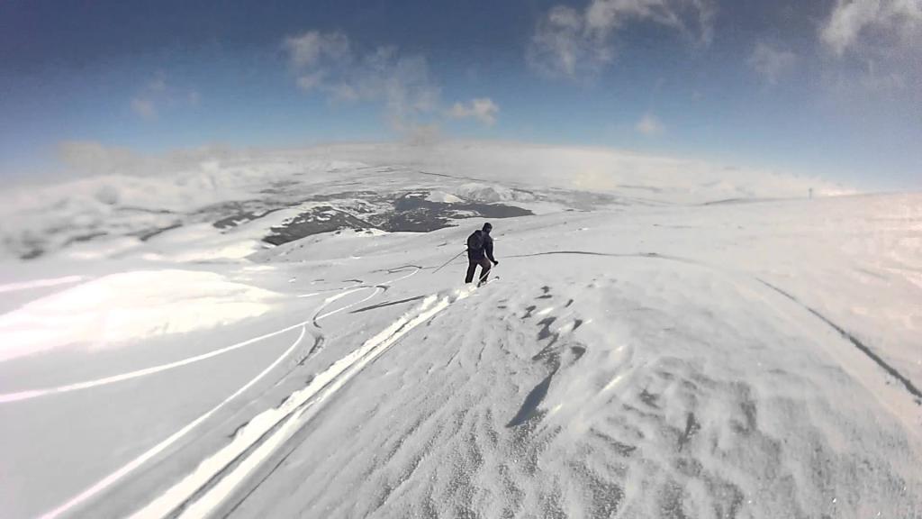 На лыжах в Цахкадзоре