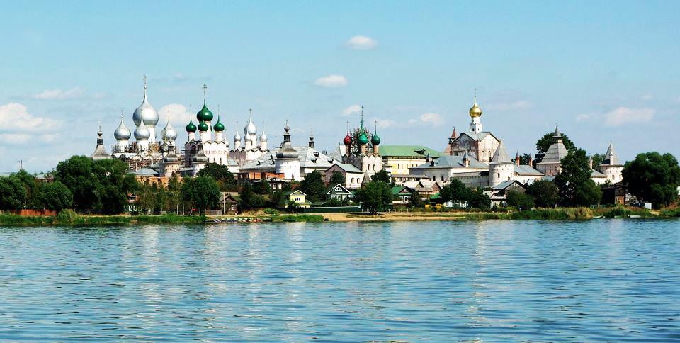 Озеро неро, Ростов Великий